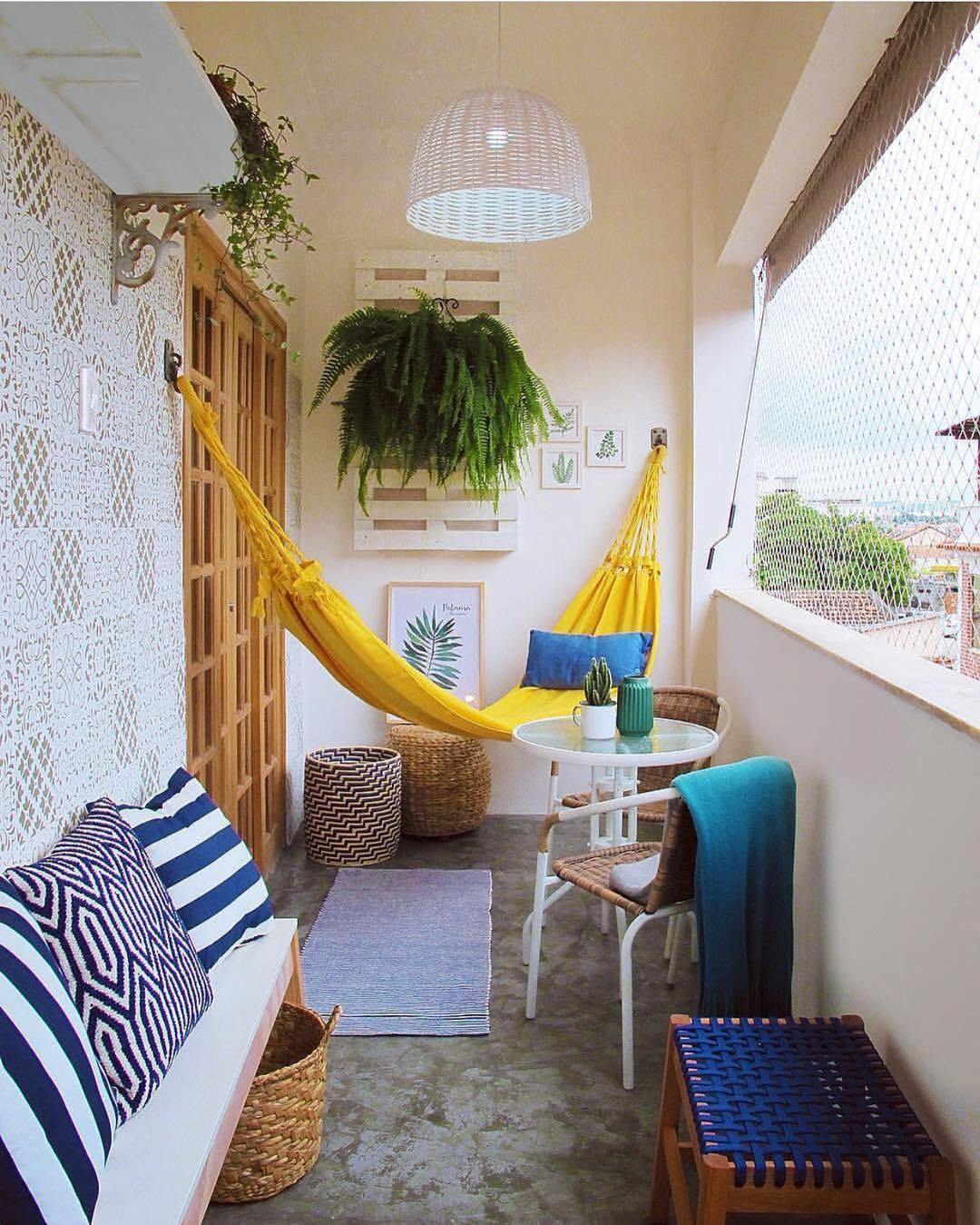 Small Balcony Decor Ideas Second Use
